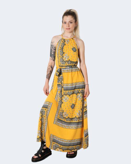 Vestito lungo Only ALMA Giallo - Foto 1