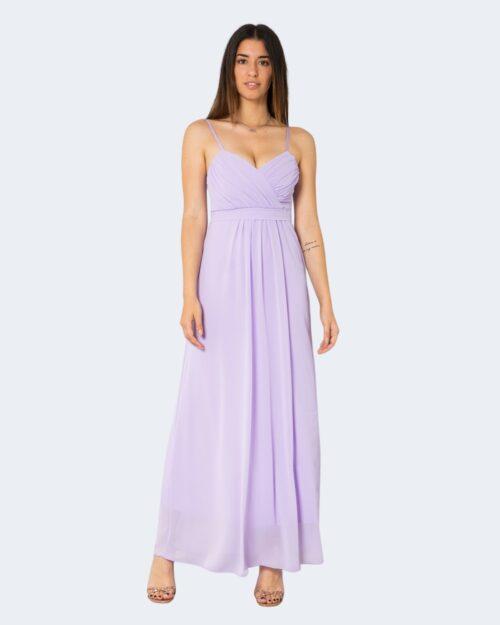 Vestito lungo Rinascimento GULLY Lilla – 72623
