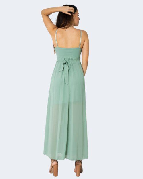 Vestito lungo Rinascimento GULLY Verde – 72623