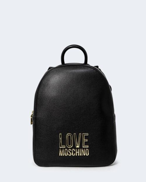 Zaino Love Moschino LOGO Nero - Foto 1