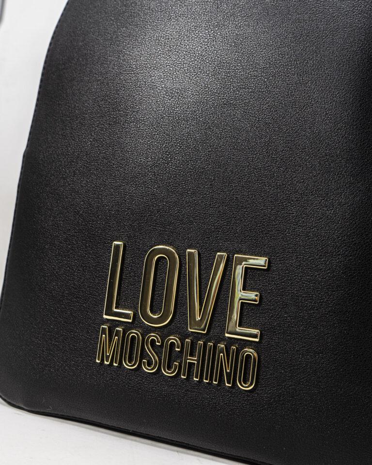 Zaino Love Moschino LOGO Nero - Foto 3