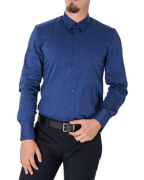 Camicia manica lunga Antony Morato BASICA Azzurro - Foto 1