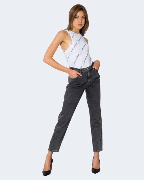 Body Calvin Klein LOGO AOP Bianco – 72143