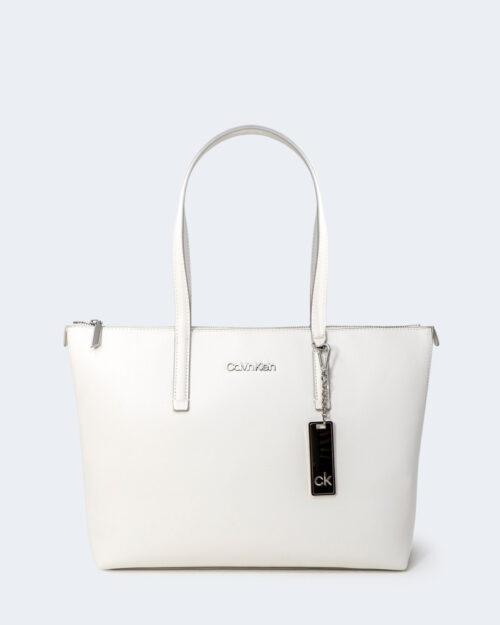 Borsa Calvin Klein SHOPPER Bianco - Foto 1