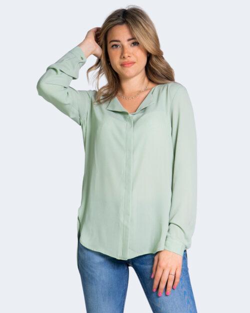 Camicia manica lunga Vila Clothes LUCY Verde – 62958
