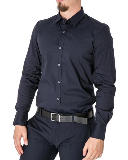Camicia manica lunga Antony Morato BASICA Blue scuro - Foto 1