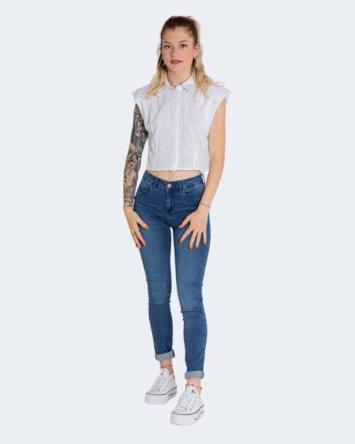 Camicia manica corta Only SIA Bianco – 74190