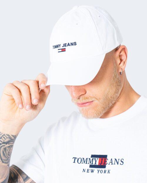 Cappello con visiera Tommy Hilfiger Jeans SPORT CAP Bianco - Foto 1