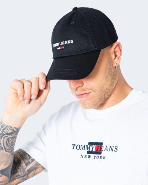 Cappello con visiera Tommy Hilfiger Jeans SPORT CAP Nero - Foto 1