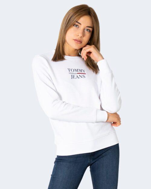 Felpa senza cappuccio Tommy Hilfiger TERRY Bianco – 72166