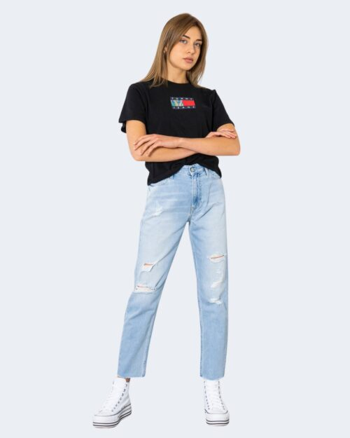 Jeans mom Calvin Klein – Denim chiaro – 72147