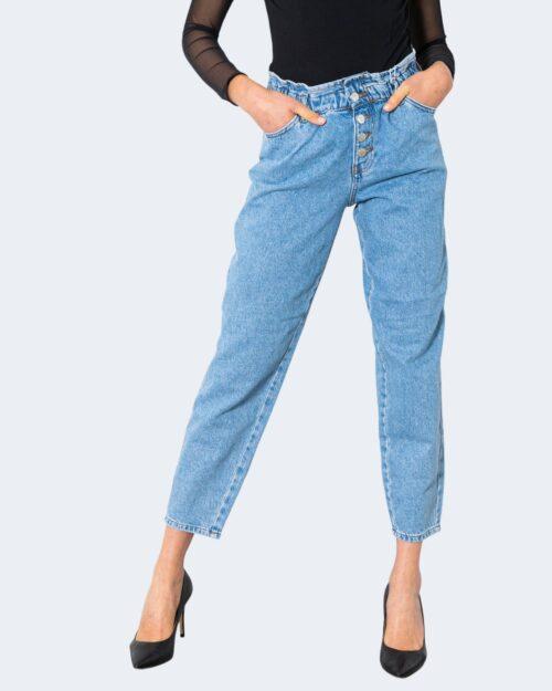 Jeans Only ONLCUBA LIFE HW SLOUCHY CA LBDNM JNS DOT – 15231087 Blue Denim Chiaro – 63295