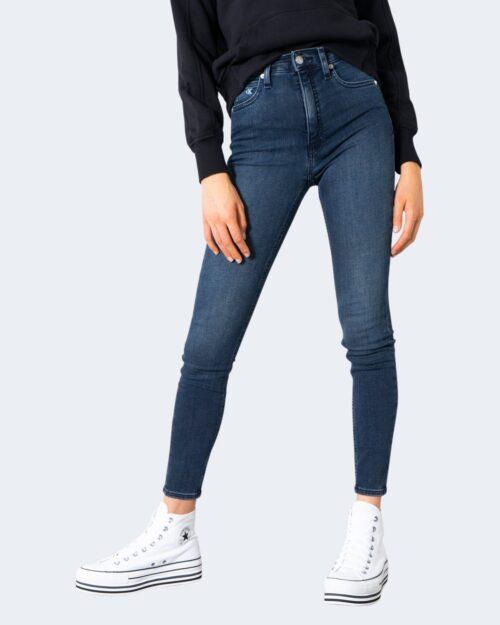 Jeans skinny Calvin Klein _ Denim scuro – 72116