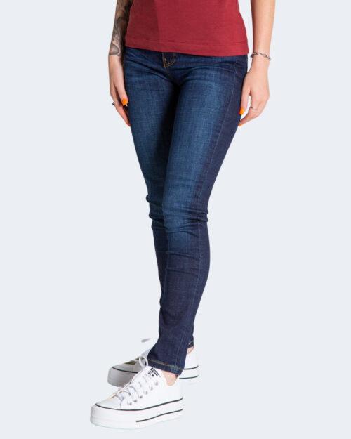 Jeans skinny Guess SUPER HIGH YOKE Denim scuro – 74144
