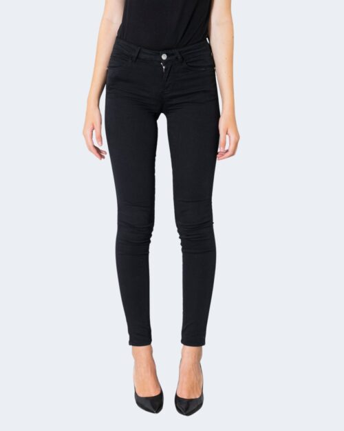 Jeans skinny Guess CURVE X MIDE RISE Nero – 74083