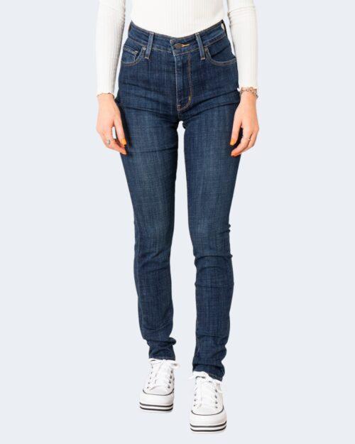 Jeans skinny Levi's® 721 HIGH RISE SKINNY Denim scuro – 71691