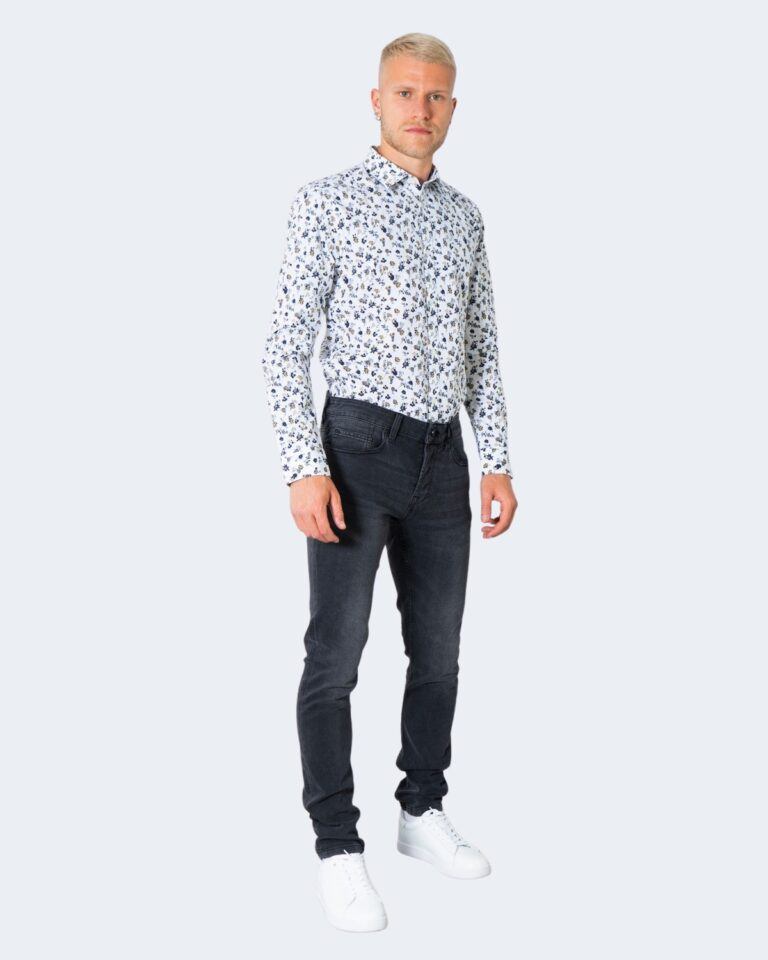 Jeans slim Only & Sons ONSLOOM LIFE SLIM BLACK WASHED PK 9623 - 22019623 Nero - Foto 2