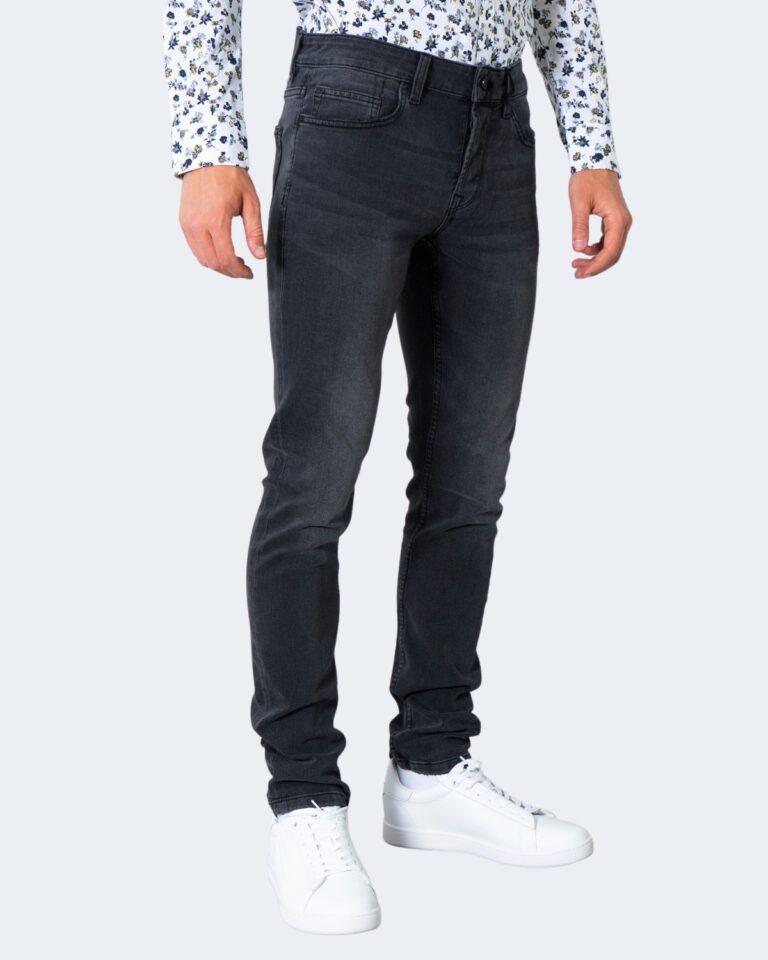 Jeans slim Only & Sons ONSLOOM LIFE SLIM BLACK WASHED PK 9623 - 22019623 Nero - Foto 3