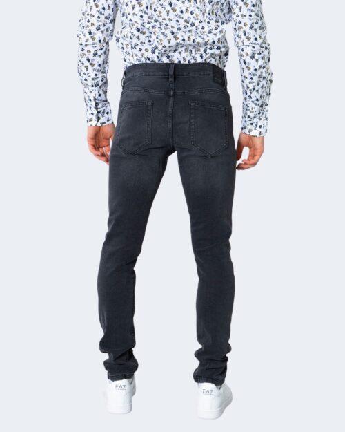 Jeans slim Only & Sons ONSLOOM LIFE SLIM BLACK WASHED PK 9623 - 22019623 Nero - Foto 4