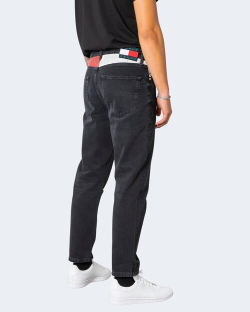 Jeans Tapered Tommy Hilfiger DAD JEAN Nero – 72189
