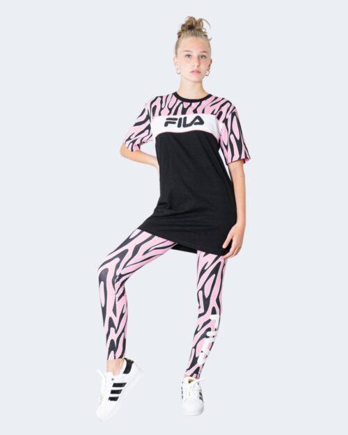 Leggings Fila ENYA AOP leggings 689127 Rosa – 65187