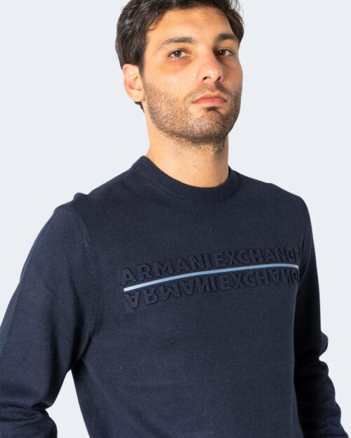 Maglia Armani Exchange PULLOVER Blu – 72495