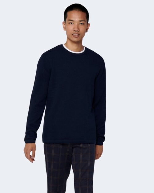 Maglia Only & Sons Panter Blu – 52597