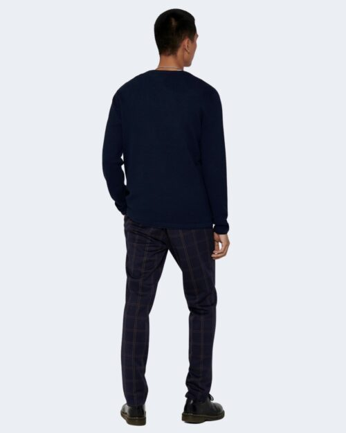 Maglia Only & Sons Panter Blu - Foto 3