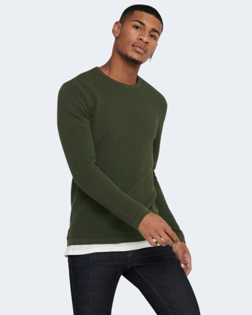 Maglia Only & Sons Panter Verde Scuro – 52597