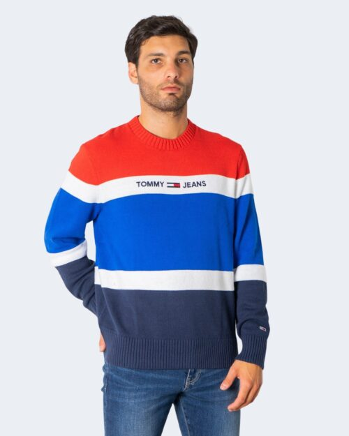 Maglione Tommy Hilfiger LINEAR LOGO Rosso – 72192