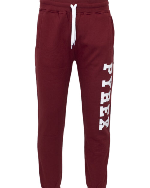 Pantaloni sportivi Pyrex FELPA COLOR Bordeaux - Foto 1