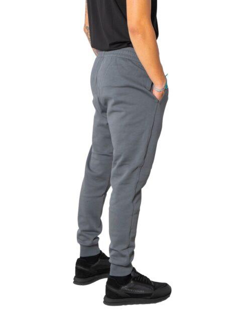 Pantaloni sportivi Ea7 STAMPA LOGO LATERALE Grigio – 74101