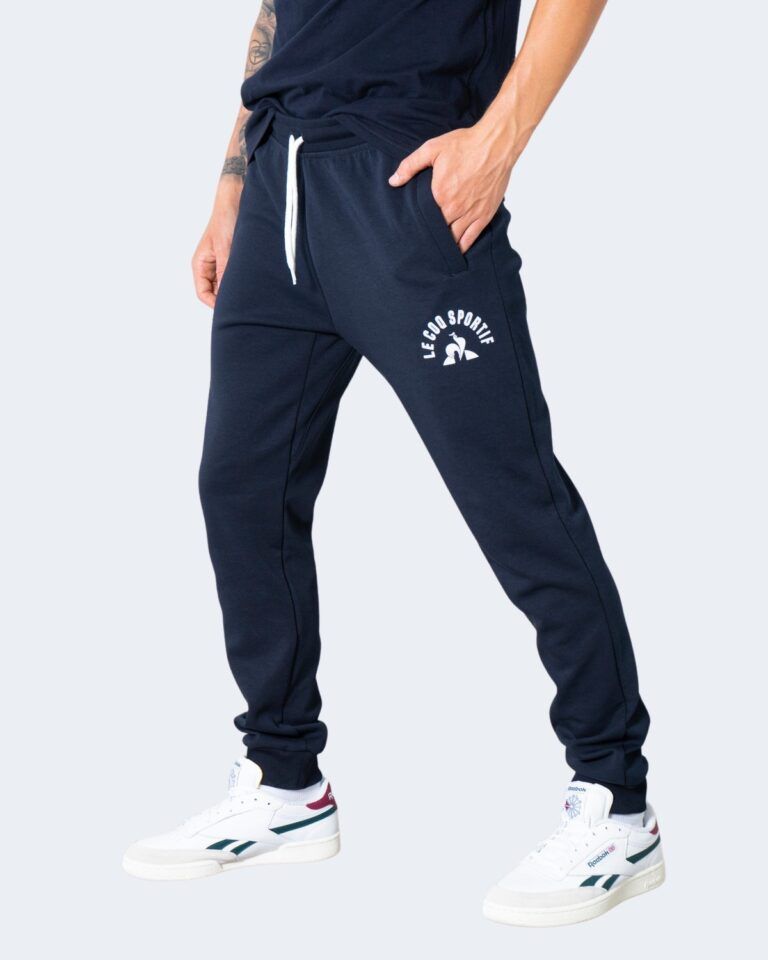 Pantaloni sportivi LE COQ SPORTIF saison 2 PANT REGULAR Blu - Foto 1