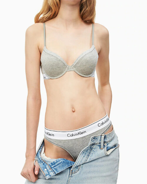 Calvin Klein Underwear THONG Grigio - Foto 3