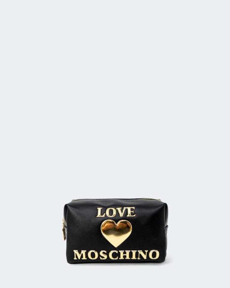 Pochette Love Moschino BUSTINA PU Nero - Foto 1