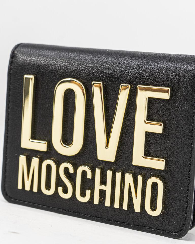 Portafoglio piccolo Love Moschino BONDED Nero - Foto 4