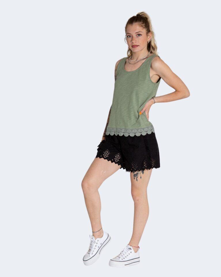 Shorts Only SANNIE BRODERIE Nero - Foto 2