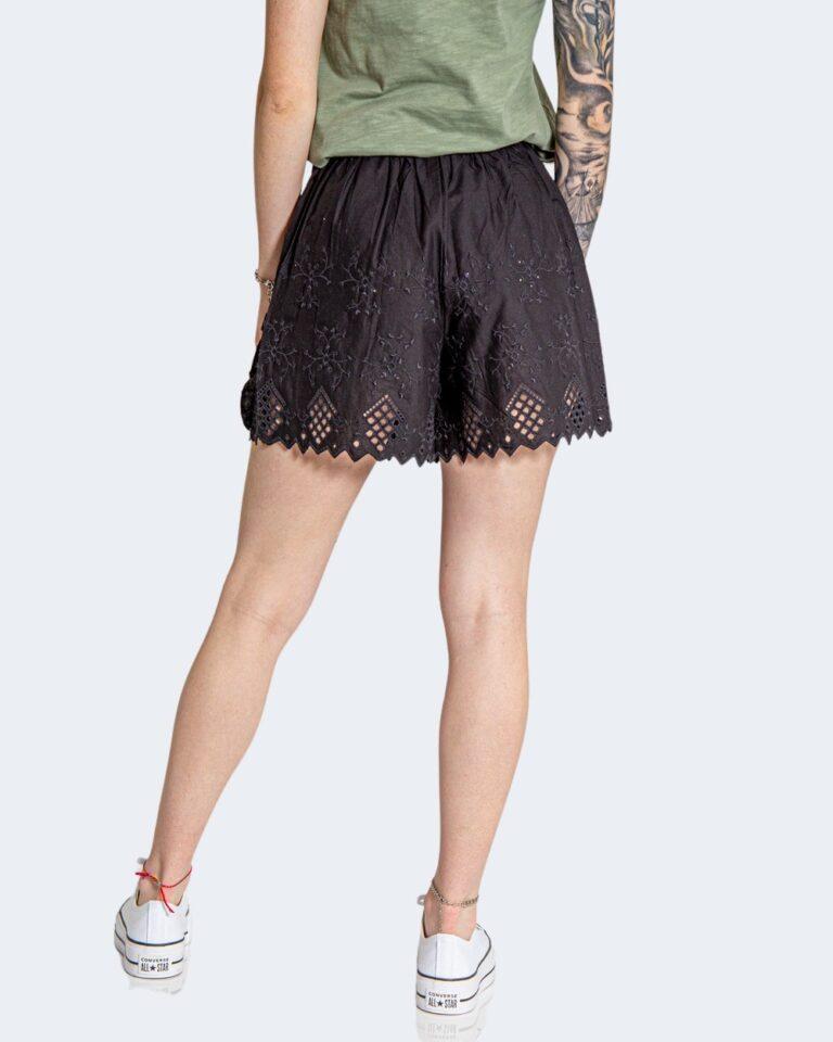 Shorts Only SANNIE BRODERIE Nero - Foto 3