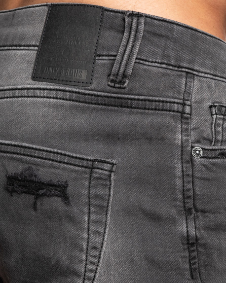 Shorts Only & Sons PLY Grigio - Foto 4