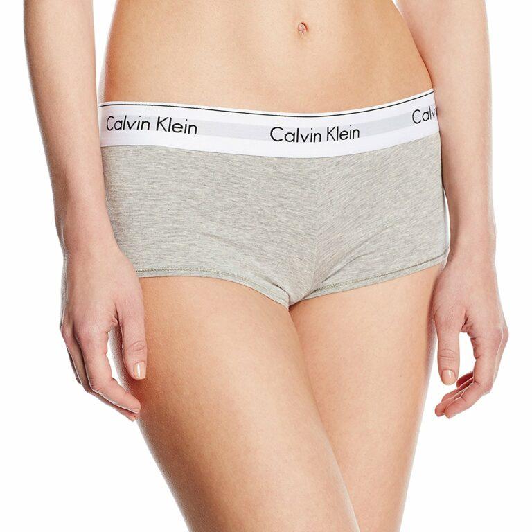 Calvin Klein Underwear Women Boyshort Grigio - Foto 1
