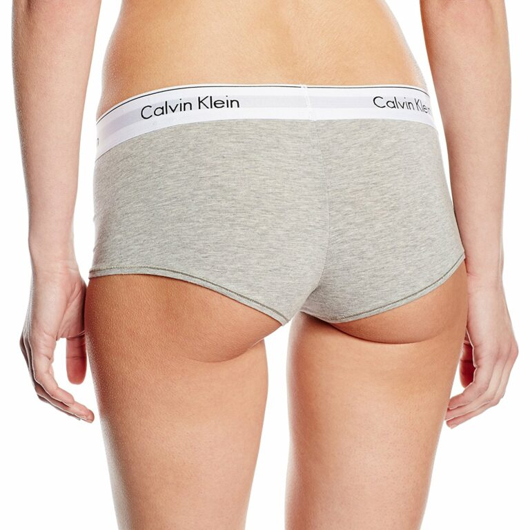 Calvin Klein Underwear Women Boyshort Grigio - Foto 2