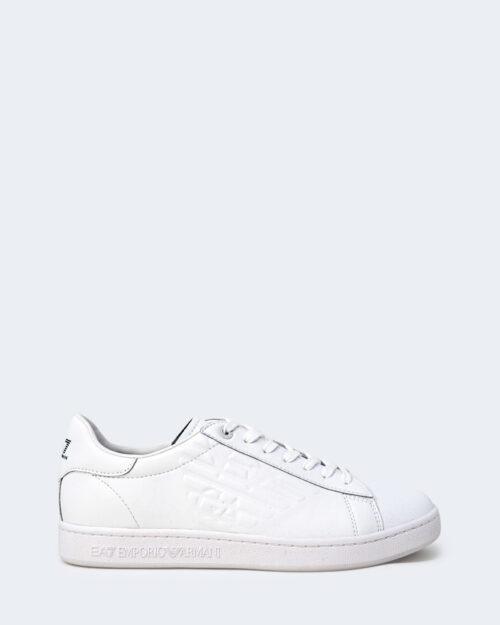 Sneakers Ea7 TINTA UNITA CON LOGO Bianco – 73072