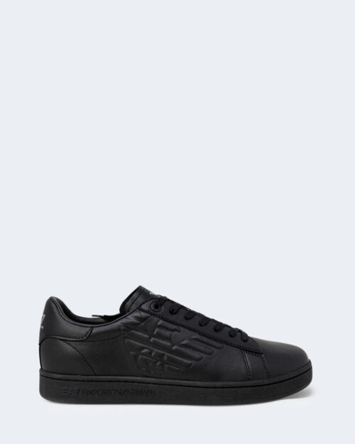 Sneakers Ea7 TINTA UNITA CON LOGO Nero – 73072