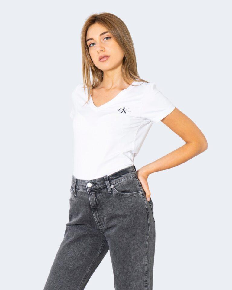 T-shirt Calvin Klein Jeans _ Bianco - Foto 1