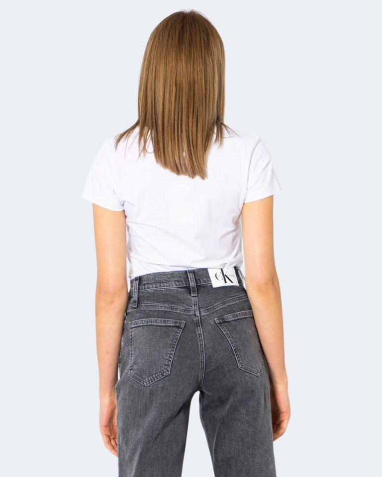 T-shirt Calvin Klein Jeans _ Bianco - Foto 3