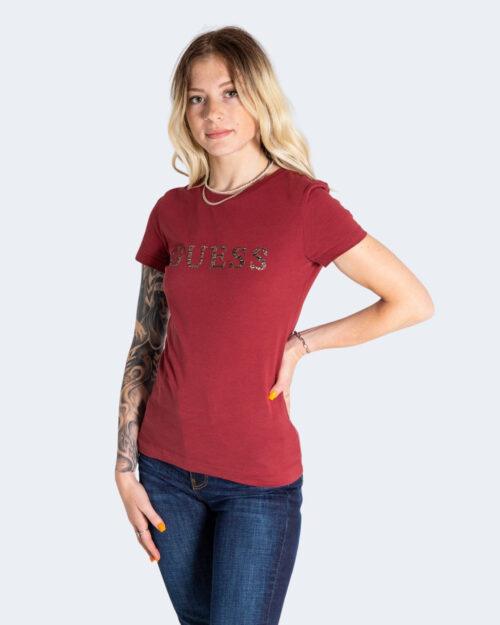 T-shirt Guess – Bordeaux – 74143