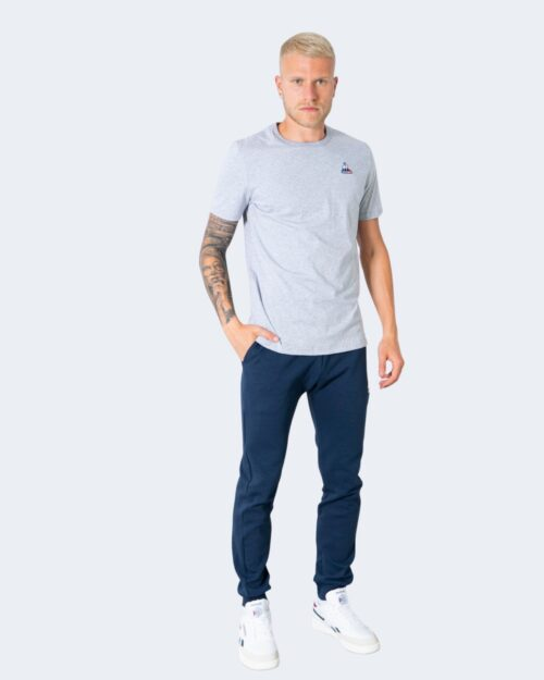 T-shirt Le Coq Sportif TINTA UNITA LOGO Grigio Chiaro – 73023