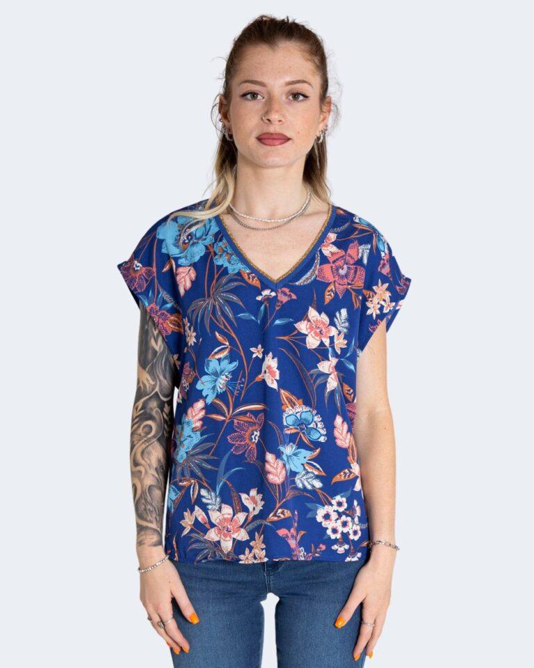 T-shirt Only TILDE Azzurro - Foto 1