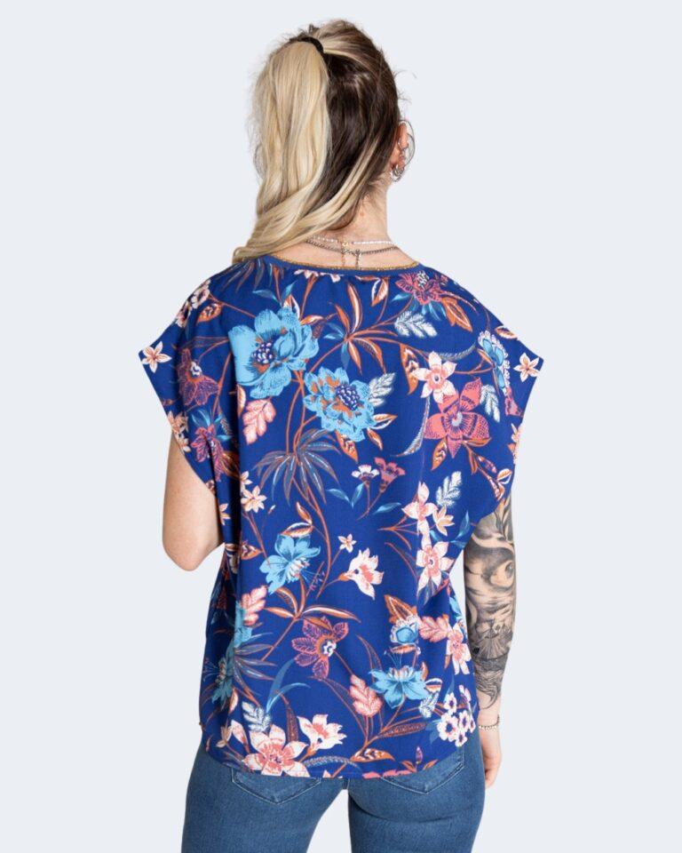 T-shirt Only TILDE Azzurro - Foto 3