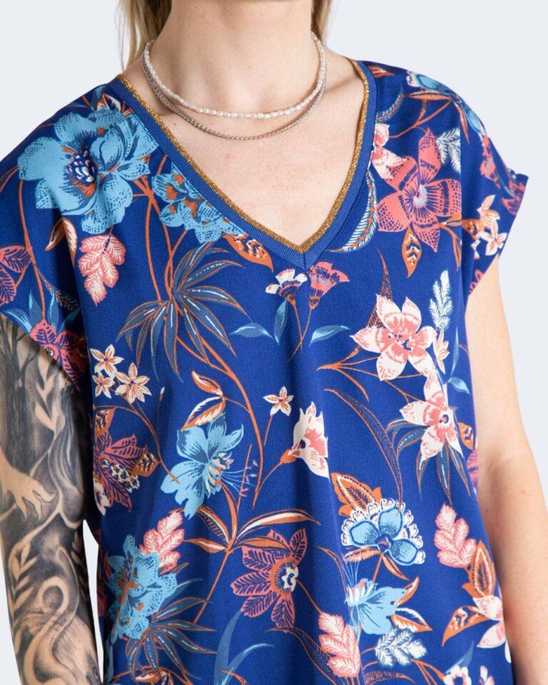 T-shirt Only TILDE Azzurro - Foto 4